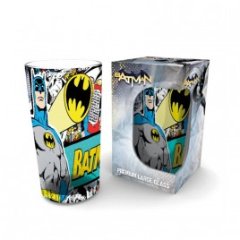DC COMICS - Full Color 500ml Glass: Batman Comic
