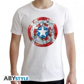 "MARVEL - Tshirt ""CA Classic"" uomo SS bianco - nuova vestibilità"