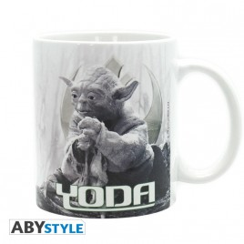 STAR WARS - Tazza - 320 ml - Yoda Dagobah - subli - con boxx2