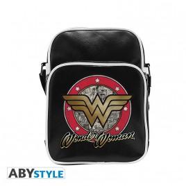 """DC COMICS - Borsa a tracolla """"Wonder Woman"""" - Vinile misura piccola - Gancio"""