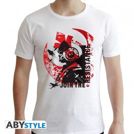 "STAR WARS - Tshirt ""Xwing Pilot"" uomo SS bianco - nuova vestibilità"