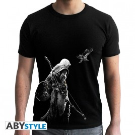 ASSASSIN'S CREED - Tshirt - Bayek - uomo SS nero - nuova vestibilità