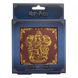HARRY POTTER - Hogwarts Crest Coasters V2