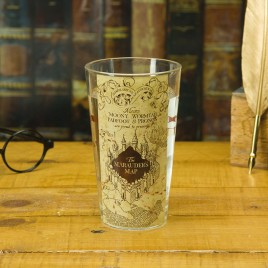 HARRY POTTER - Marauders Map Water Glass