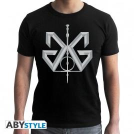 FANTASTIC BEAST - Tshirt Grindelwald uomo SS nero - nuova vestibilità