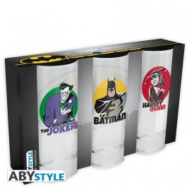 DC COMICS - Set di 3 bicchieri x2