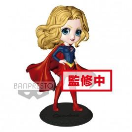 DC COMICS - Collezione Figurine Q posket Supergirl 14cm