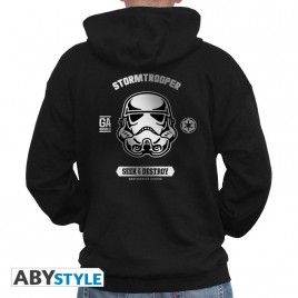 "STAR WARS - Sweat - ""Trooper - SW003"" uomo nero"