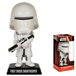 STAR WARS EP VII - Wacky Wobler Snow Trooper!