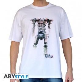 "CASTLEVANIA - Tshirt ""Titan"" uomo SS bianco - basic"