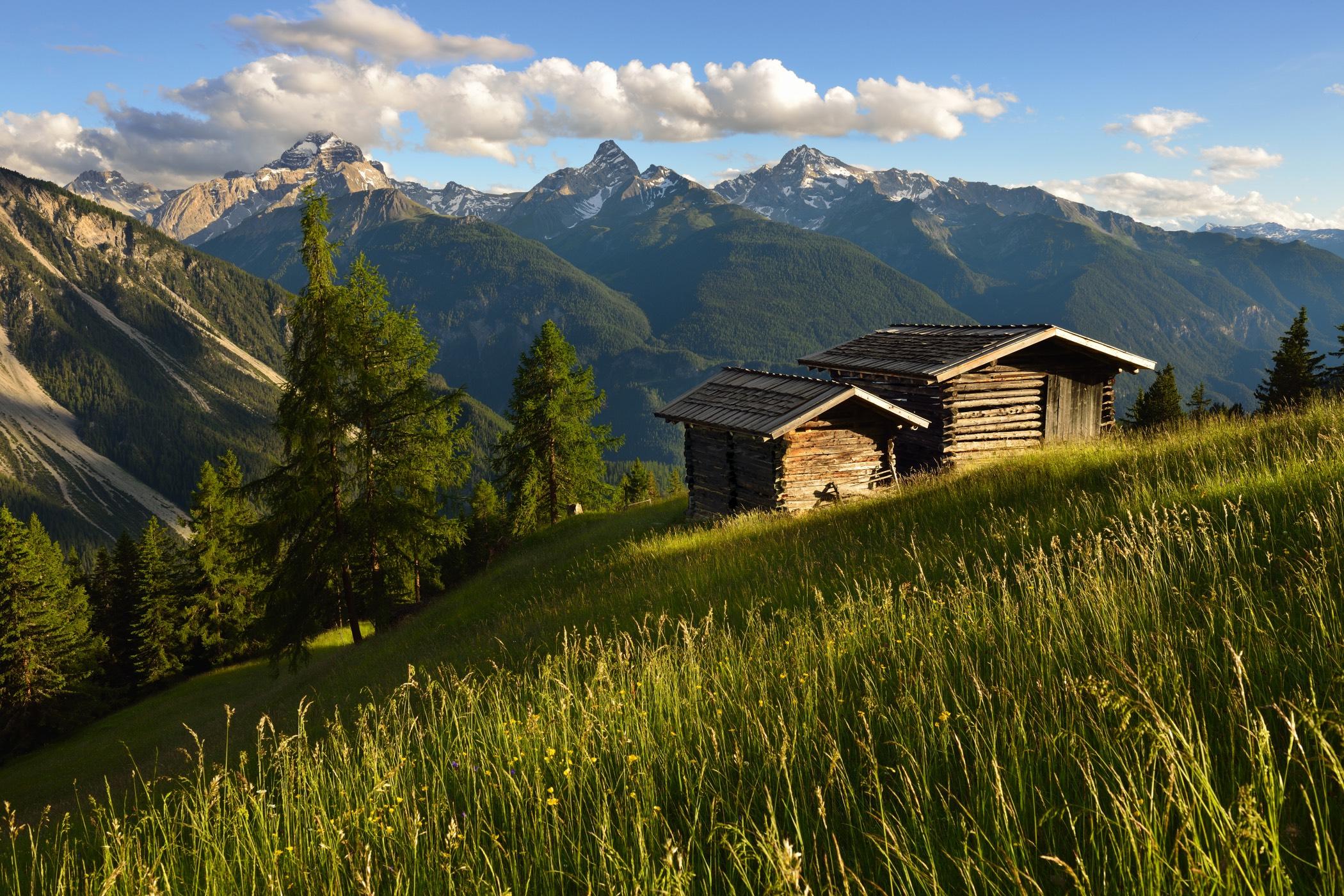 Wiesner Alp überhalb Davos