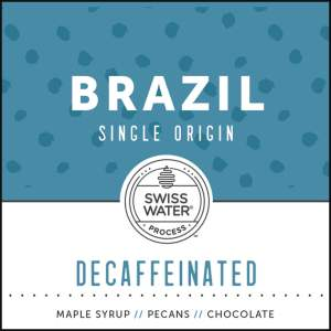 Brazil Decaffeinated Single Origin Coffee Subscription
