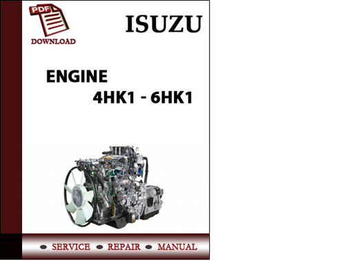 6HK1 Workshop Service Repair Manual