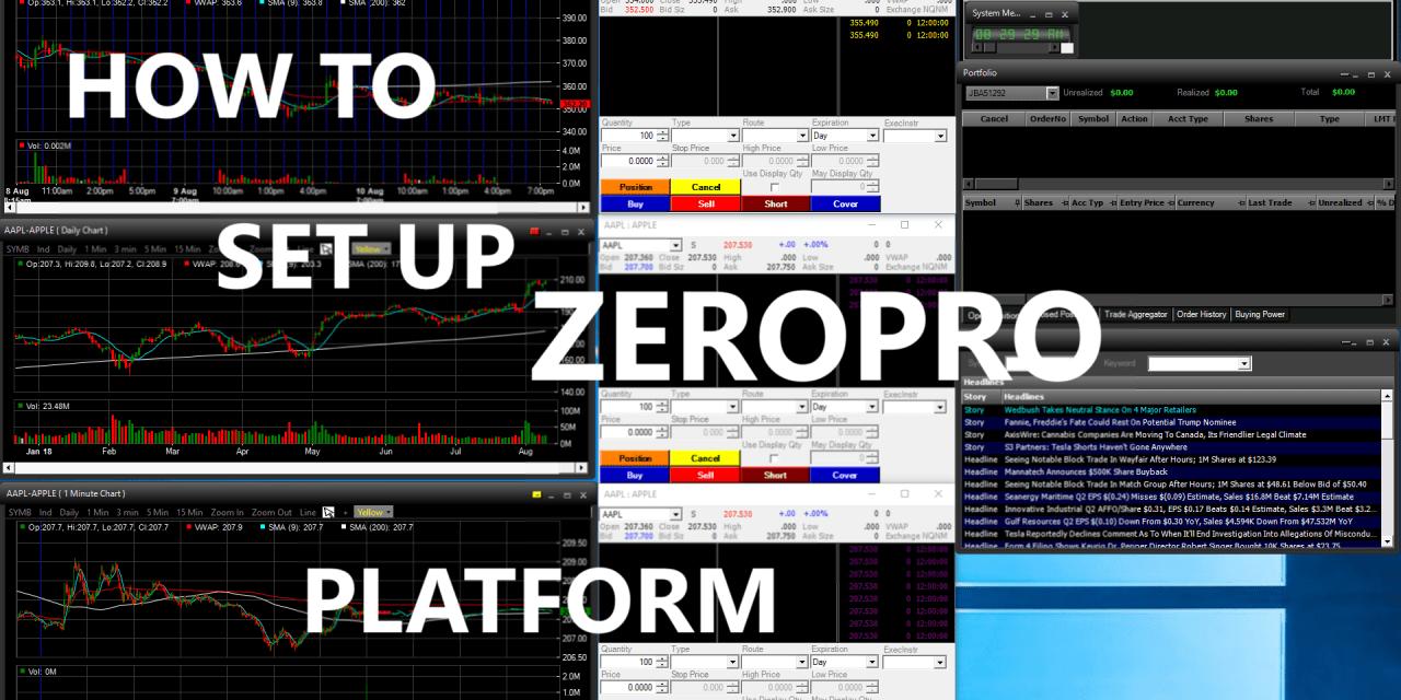 Tradezero free platform