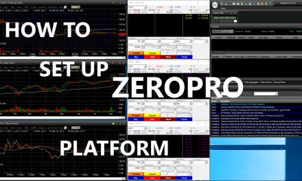 How to set up TradeZero – ZeroPro platform for one or multiple monitors
