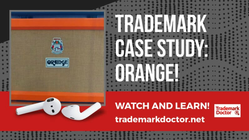 Trademark Case Study: ORANGE amplifiers