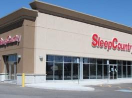 Sleep Country store in Oshawa store
