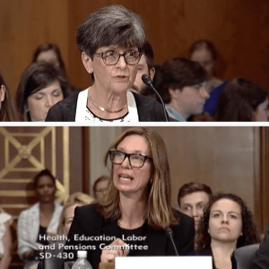 Marilyn Bartlett and Elizabeth Mitchell testify at Senate HELP hearing