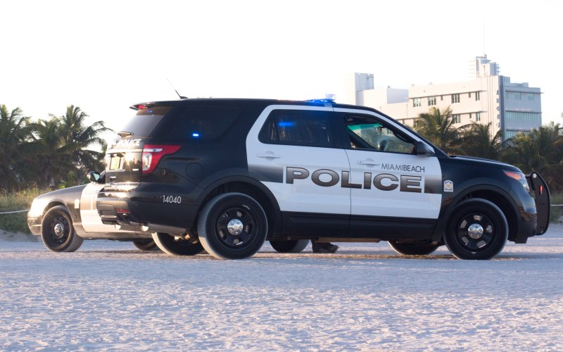 Miami Beach Police Car