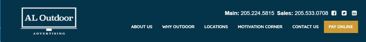 Alabama Outdoor Billboard Advertising