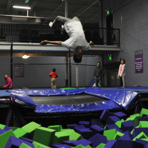 Steel City Jump Park, Birmingham Alabama Foam Pit