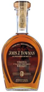 John J. Bowman Single Barrel Bourbon