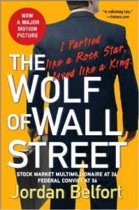 Wolf of Wall Street Book