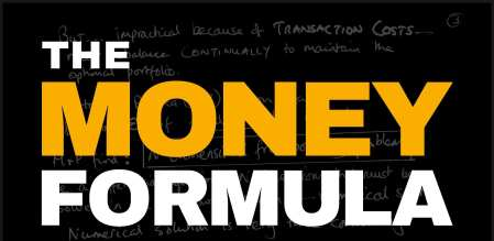 The Money Formula by Paul Wilmott and David Orrell