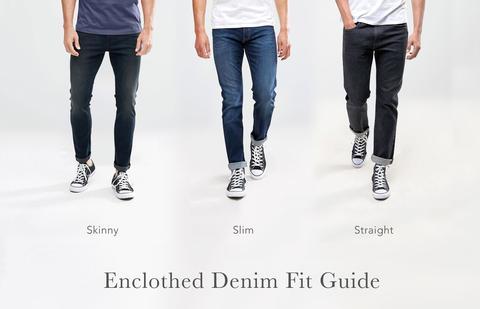 Enclothed Denim Fit Guide