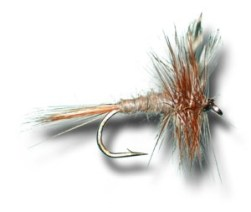 The Adams is probably the most popular dry fly of all time.
