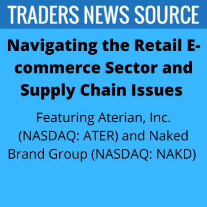 Naked Brand Group (NAKD) and Aterian (ATER) Small Cap Companies Navigating the Retail E-commerce Sector and Supply Chain Issues
