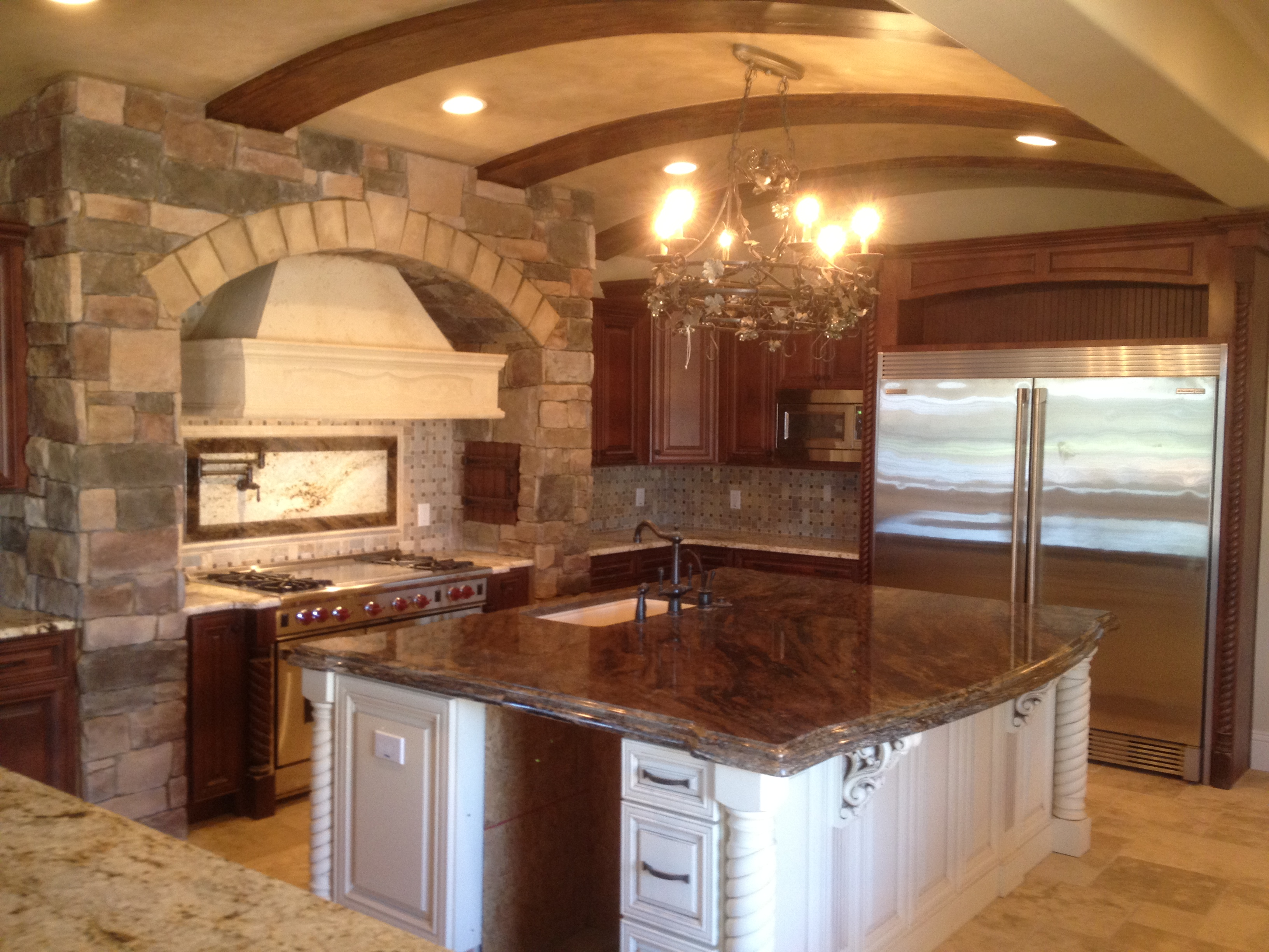 Luxury Tuscan Kitchen For Less