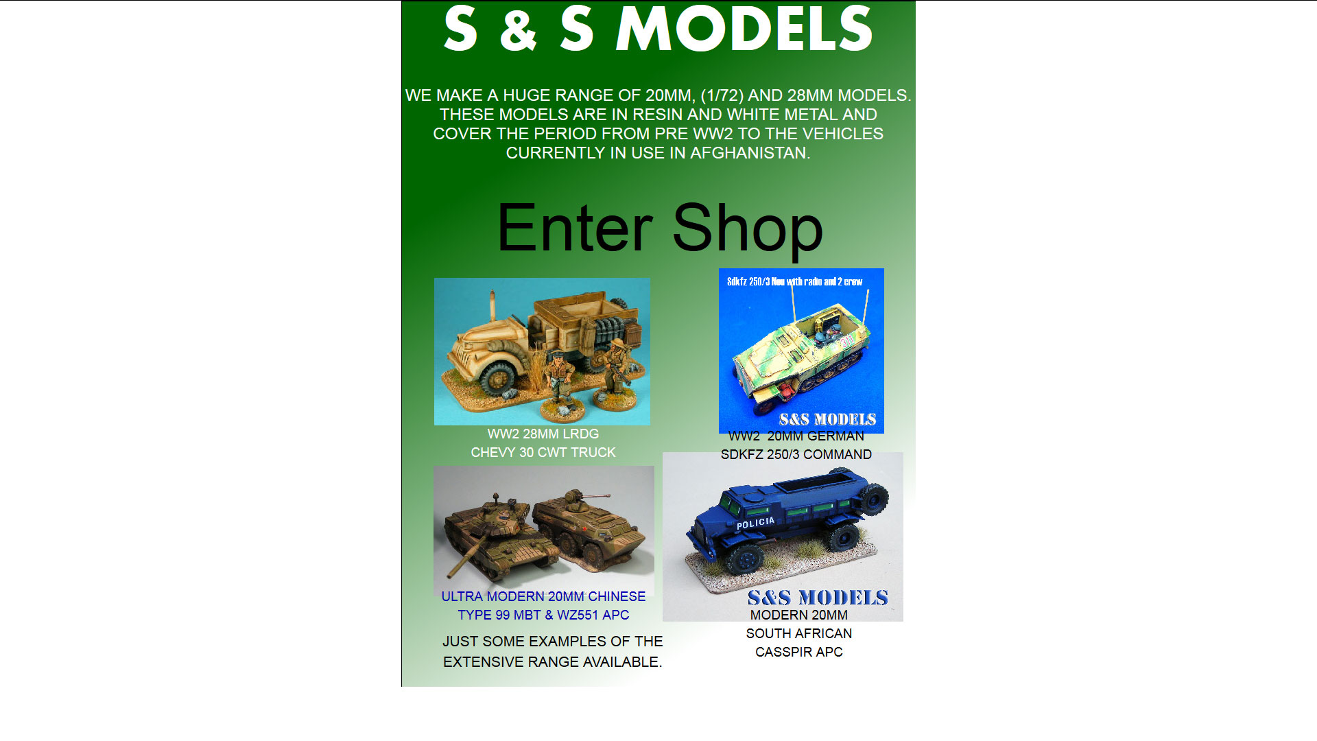 S and S Models