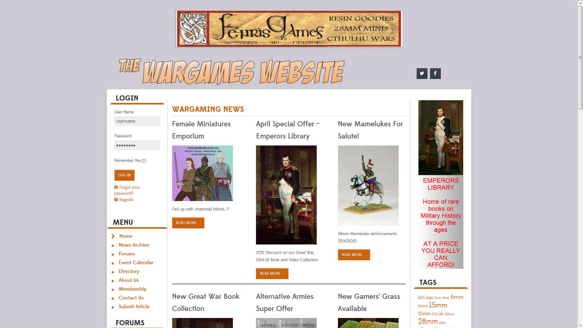 The Wargames Website