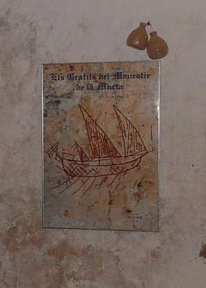 Título: Els GrafitIs del Monestir de la Murta Autor: Juan Rivas González