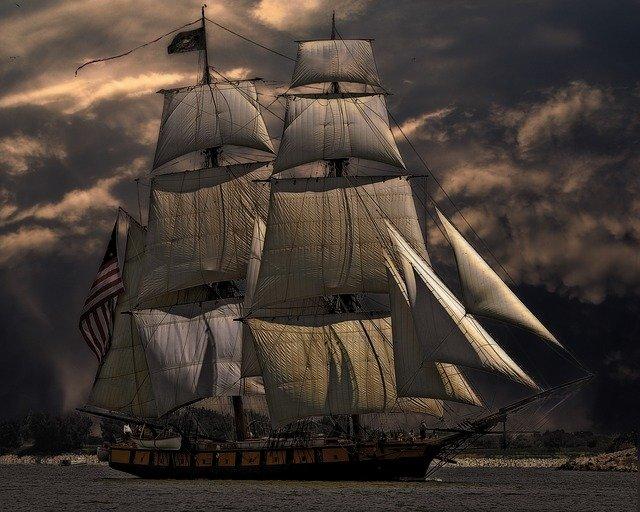 itinéraire du bateau et trading