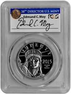 2015-W $100 Statue of Liberty (PCGS-PR70DCAM FS) - Moy - Obv