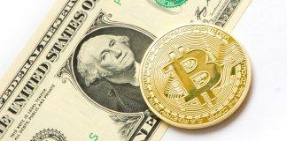 bitcoin BTC dolar kryptoměny virtuální měny