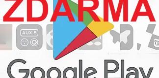 Ggoogle Play Store zoznam aplikácií a hier zdarma