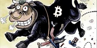Bitcoin byl takto vysoko naposledy během největšího hypu v roce 2017