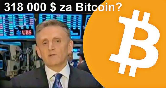 Ředitel produktu americké banky: Bitcoin dosáhne 318 000 $ v roce 2021