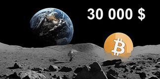 Bitcoin se blíží k 30 000 $ !!! Dosáhne to do konce roku?