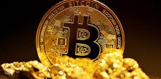 Bitcoin BTC raw gold
