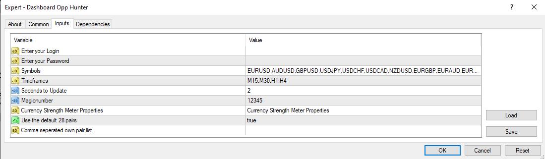 Forex dashboard scanner mt4 dashboard scanner EA