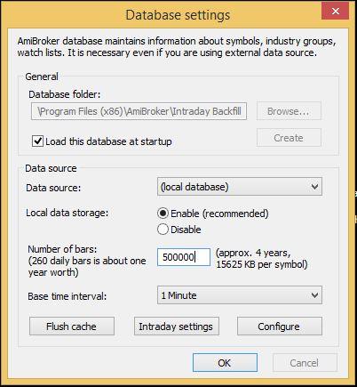 Database Settings 1