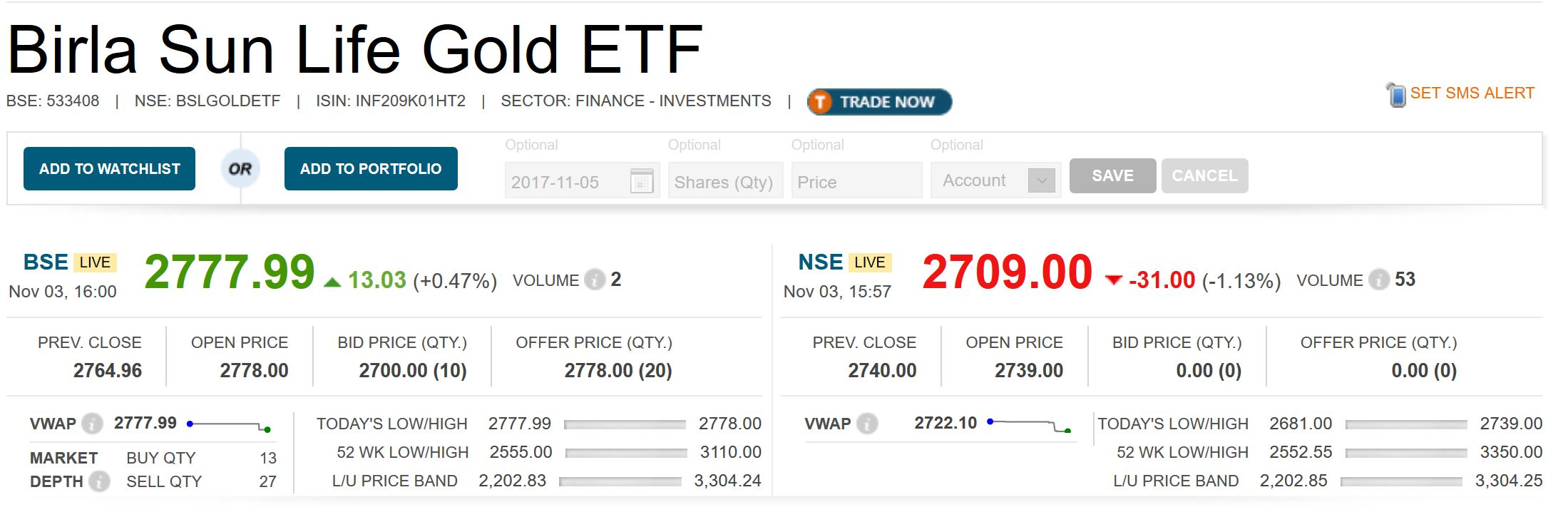 NSE BSE Arbitrage Trading: Live Signals and Excel Sheet