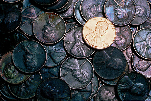 Shiny Penny Syndrome in stock markets