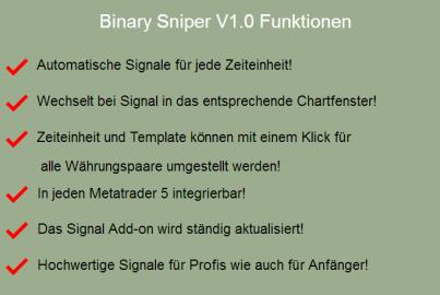 binary sniper v1.0 funktionen