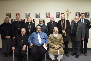 Canadian Newbishops with Imams