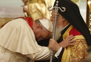 Francis-Bergoglio & Bartholomew